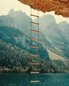26. The Golden Ladder - Kata Geibl -From the series There is Nothing New under the Sun