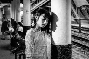 35. The Station Waiting - Derek Brown